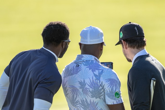 Reggie Bush, Ace Thomas, Mark Wahlberg Celeb Cup 2019-1