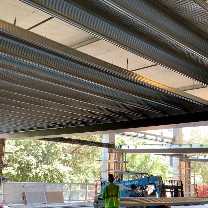 Diversakore pan deck system install on our @urbanspacerealtors @urbanspaceinteriors new offices @theindependentaustin