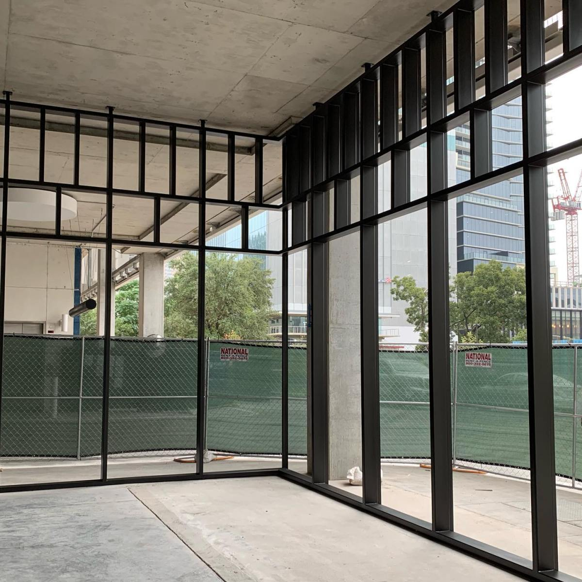 And we're done, well glazing is on the way as well. Bespoke design and craftsmanship by our team @michaelwesandco @theindependentaustin future Headquarters for @urbanspacerealtors