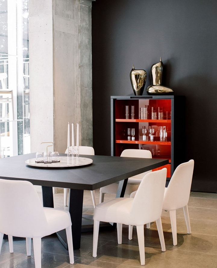Clean lines, contrasting textures, and colors highlight the variety that @urbanspaceinteriors are known for.
