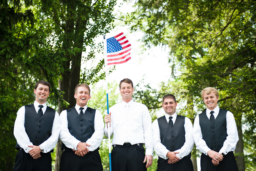 montour country club wedding groom