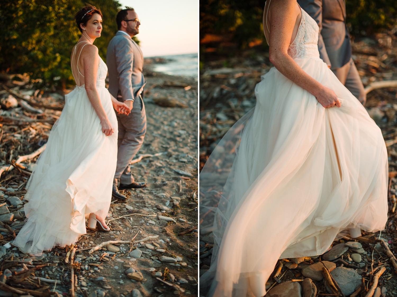 lake erie wedding
