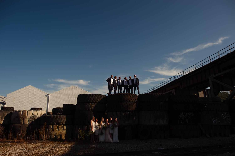 mattress factory wedding