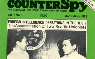 Why was an FBI Informant at the Murder Scene of Gene Viernes and Silme Domingo?