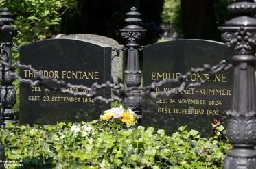 Grabmal für Theodor Fontane