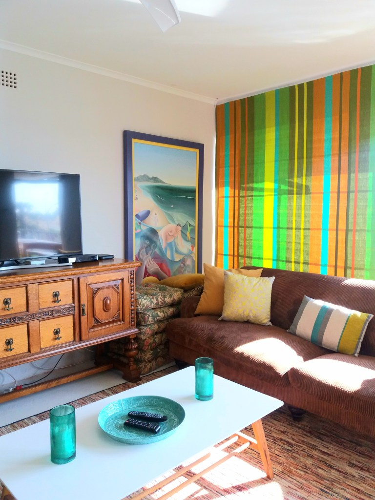 Inside our Gordon's Bay Airbnb the affordable way to travel michalah francis