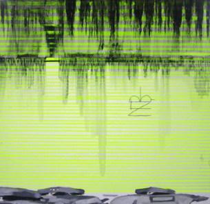 Malevich in assault, 2006, 83x83cm