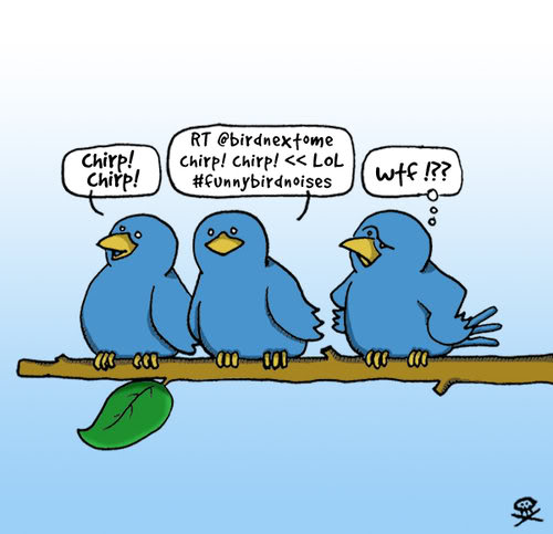 Co mnie drażni w Twitterze?