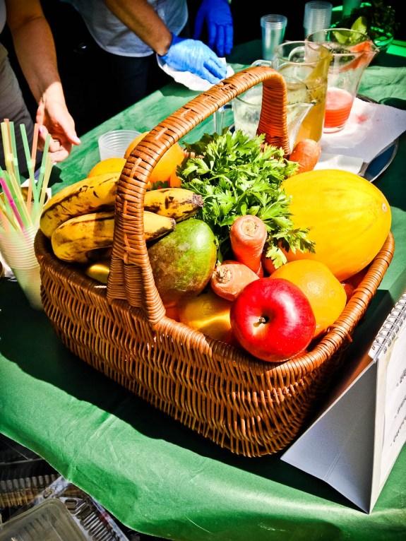 Soki owocowe i warzywne przyrządzane na miejscu w termomixie.