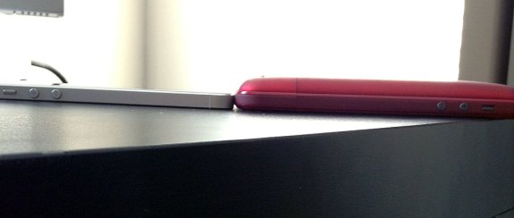 iPhone 5 vs Mophie Juice Pack Pro