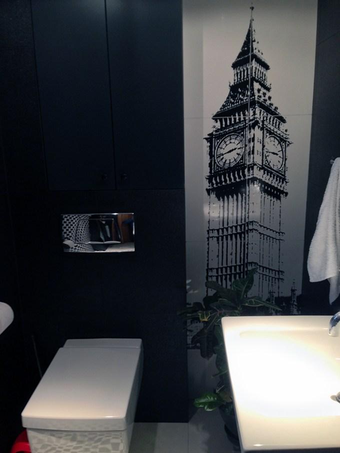 Moja łazienka - zdjęcie bez obiektywów.