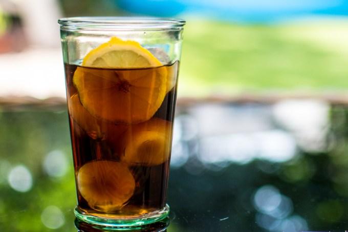 Spiced rum z colą