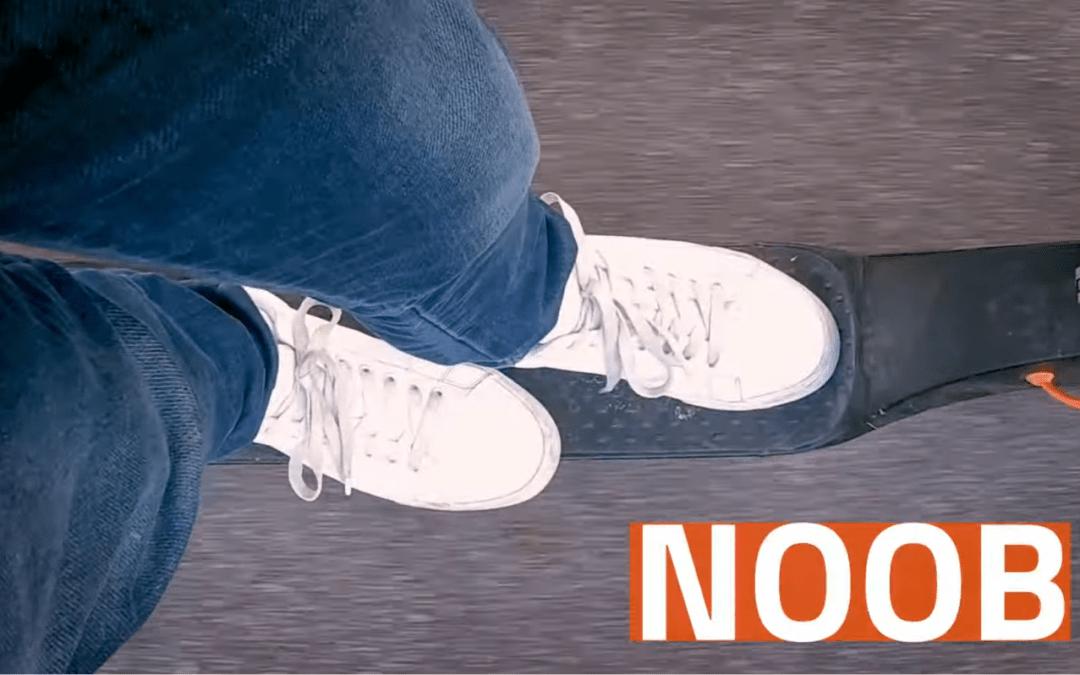 10 porad dla jeżdżących na hulajnogach elektrycznych