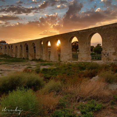 Kypr, Larnaka, Camares aquaduct