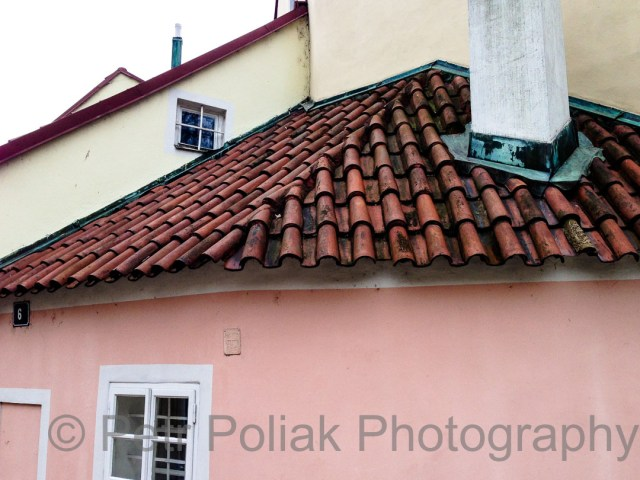 Prague red tiles
