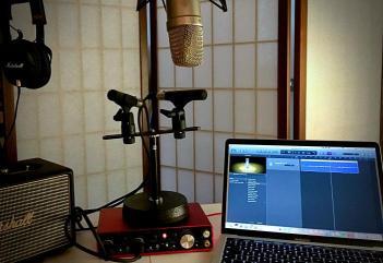 Aufnahme-Equipment mit Mac