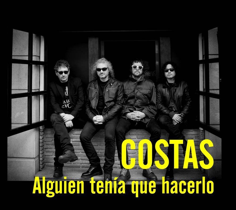 Costas, ex Siniestro Total y Aerolíneas Federales, publica nuevo disco.