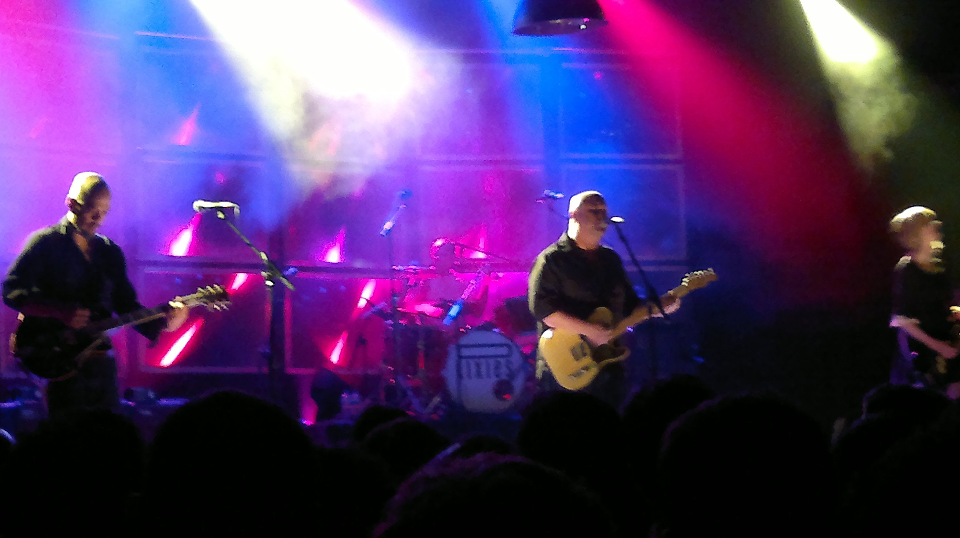Frank Black y sus Pixies en La Riviera de Madrid el 8/11/2013