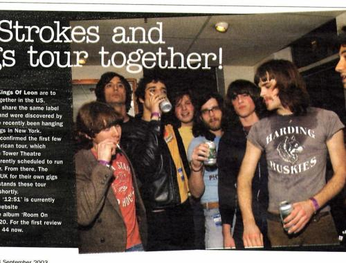 Kings Of Leon, The Strokes