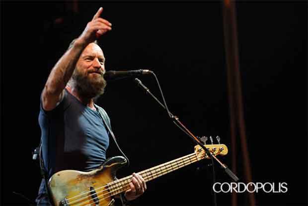 Crónica del concierto de Sting en el Festival de la Guitarra de Córdoba