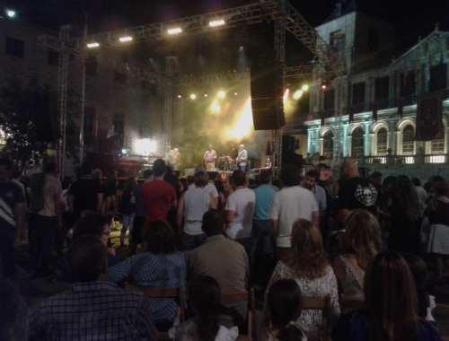 Los Grecos, Niebla y May concierto en Toledo.