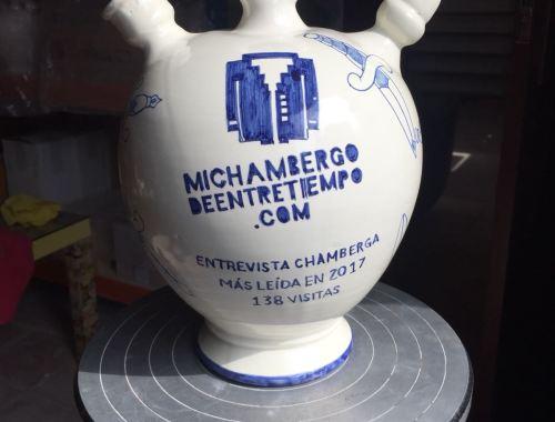 The Government recibió su botijo a la entrevista chamberga más leída de 2017 del blog musical Mi Chambergo de Entretiempo