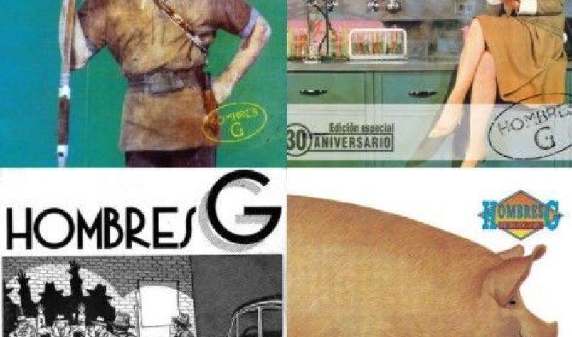 Hombres G las mejores canciones de la banda de David Summers.