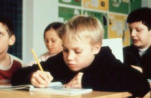 Niño estudiante