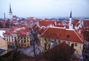 Vistas de Tallin (Estonia)