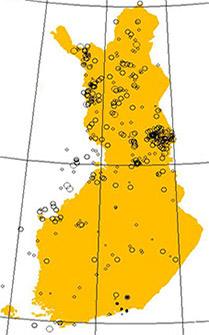 ¿Es posible que haya un terremoto en Finlandia?