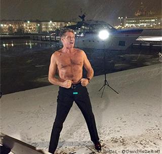 David Hasselhoff en Fnlandia