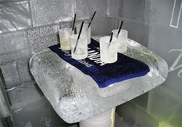 Bar de hielo en Finlandia