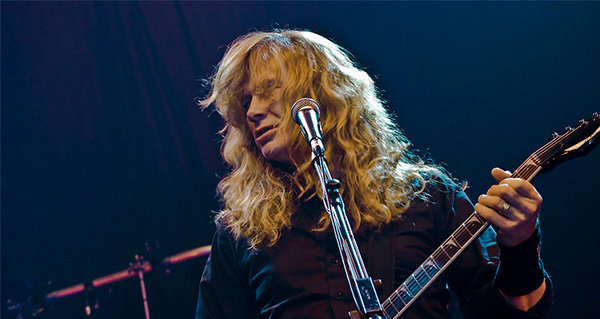 Dave Mustaine y Finlandia