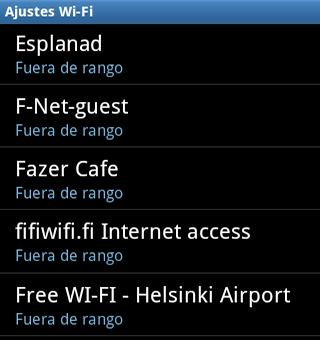 Redes Wi-Fi en Finlandia
