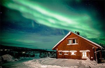 Cómo ver auroras boreales en Finlandia