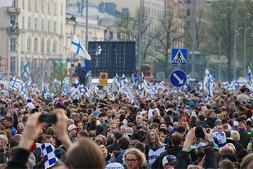 Suomi mainittu! Torilla tavataan