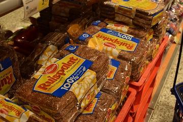 Pan de centeno Finlandia