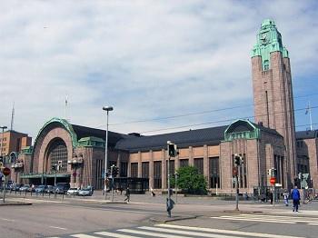 Estación central de Helsinki