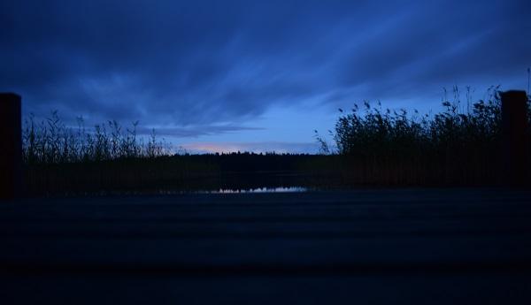 Lago Finlandia noche