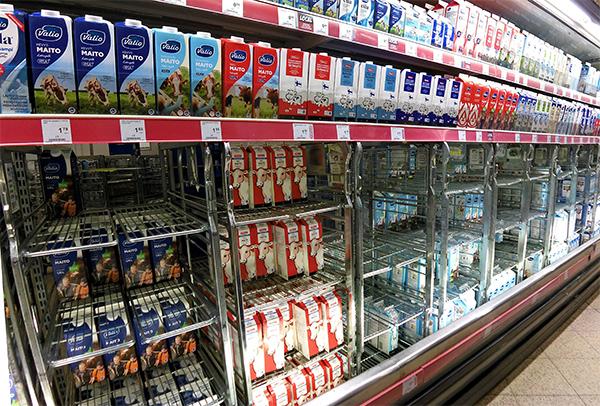 Leche Finlandia supermercado