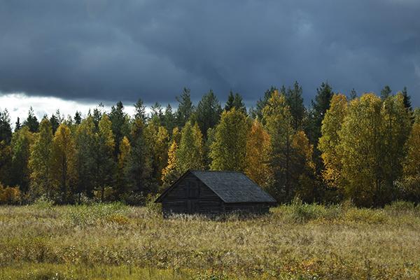 Casa abandonada Laponia