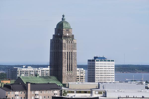 Torre iglesia de Kallio