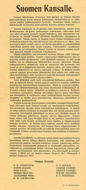Declaración independencia Finlandia