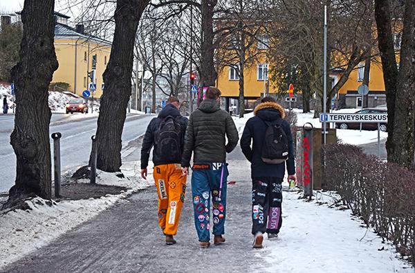 estudiantes universidad Finlandia