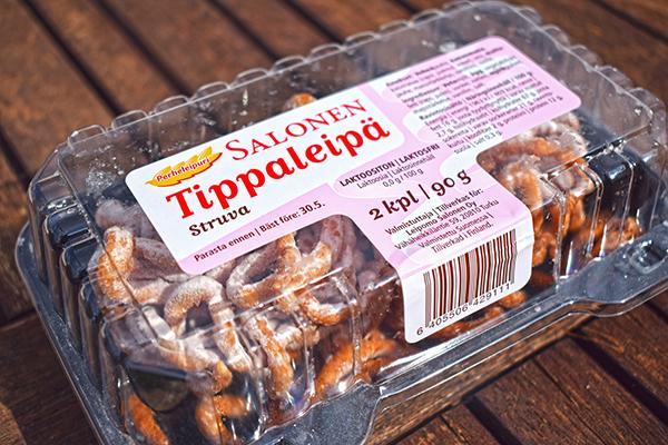 Tippaleipä comida Vappu Finlandia