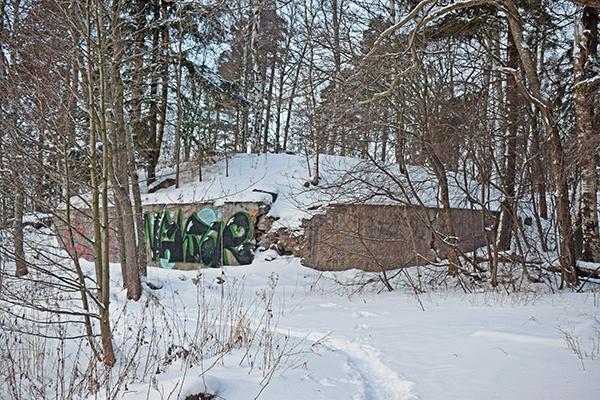 Ruinas de la Guerra de Crimea en Finlandia