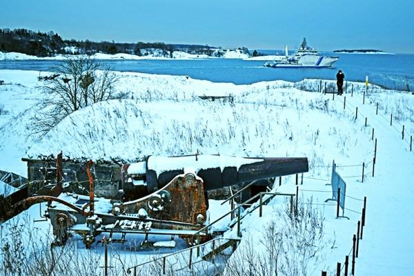 Cañón Suomenlinna