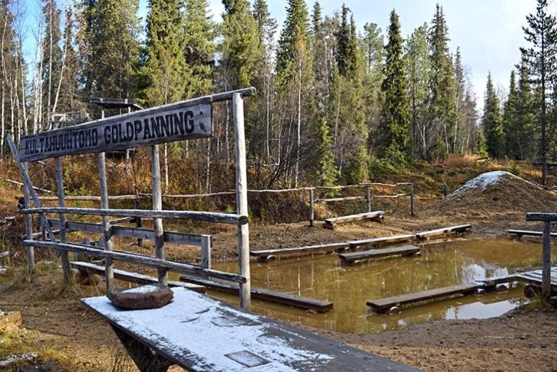 Tankavaara mina oro Laponia