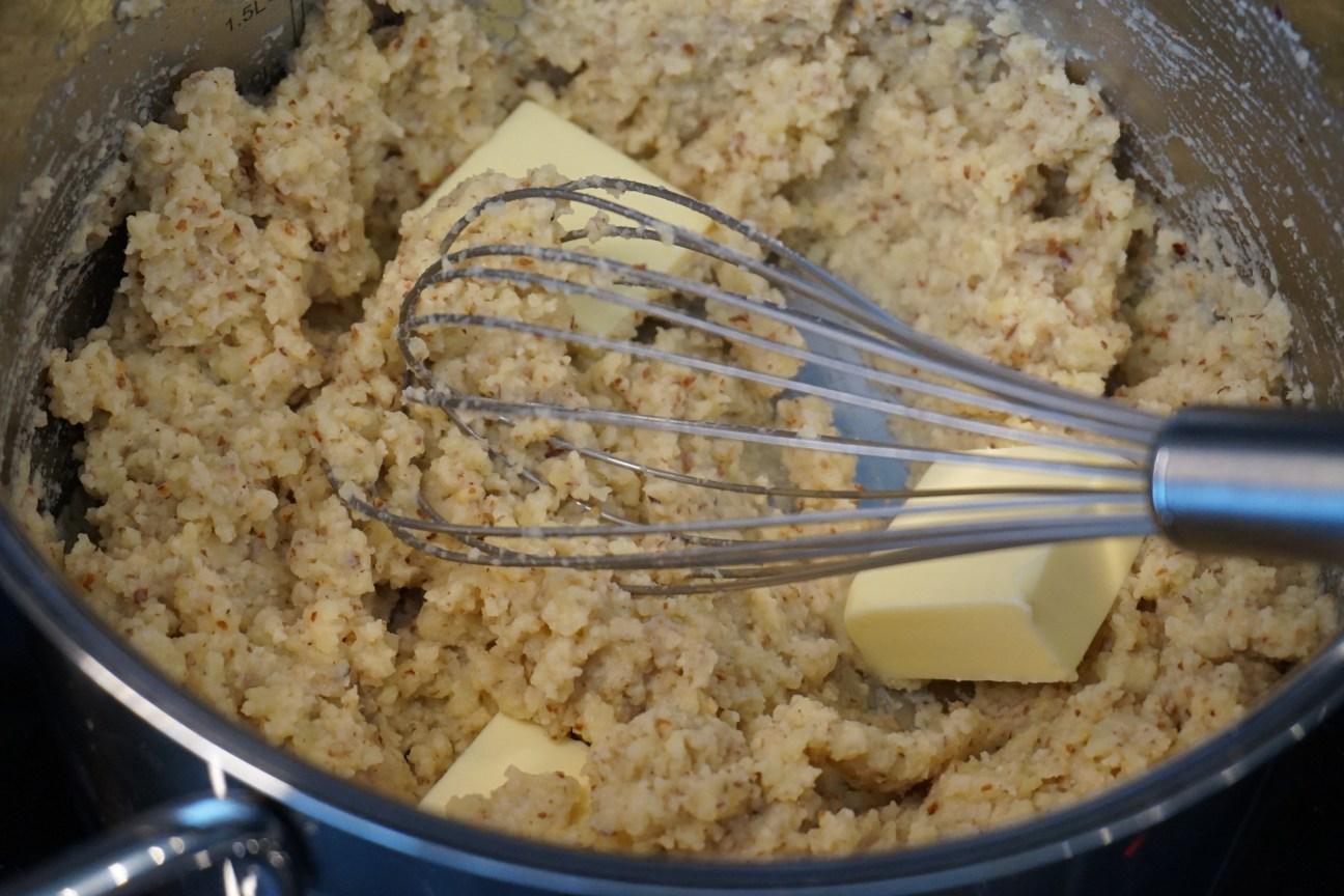 Mandel-Kartoffelcreme