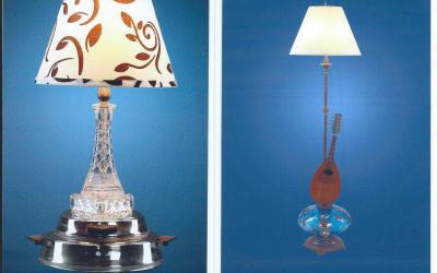 Jay's Unique Lamps – Made from Antique Parts, Musical Instruments, Misc.